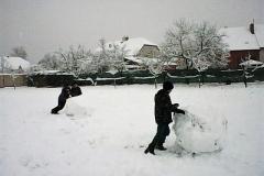 28. – 29. 1. 2019 Stavíme sněhuláky v TV - 3. třída